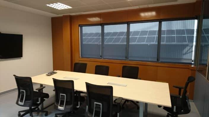 Estores enrollables en madrid persianas villamil for Estores para oficinas