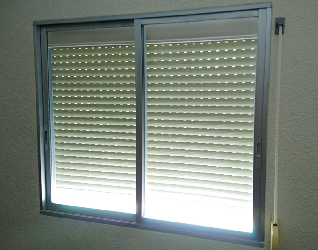 Como instalar persiana de aluminio persianas de enrollar for Persiana de aluminio